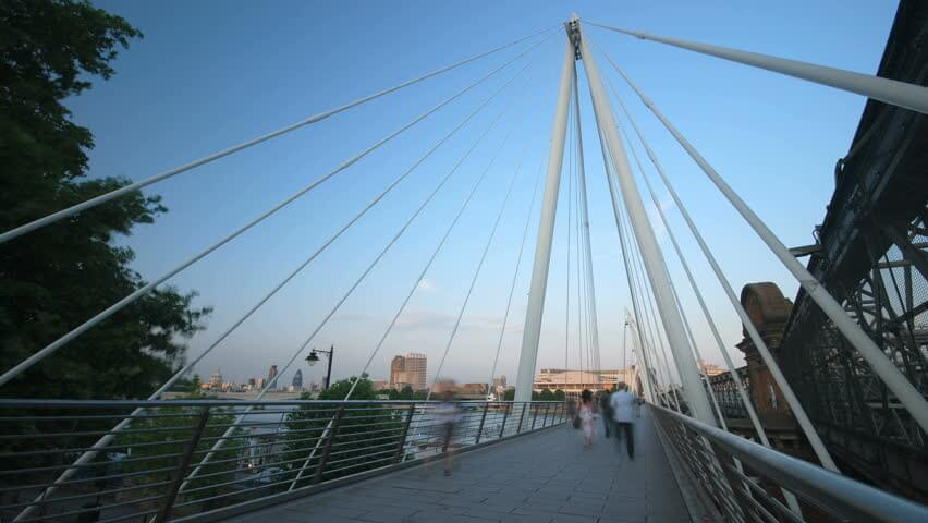 Hungerford Millennium Bridge